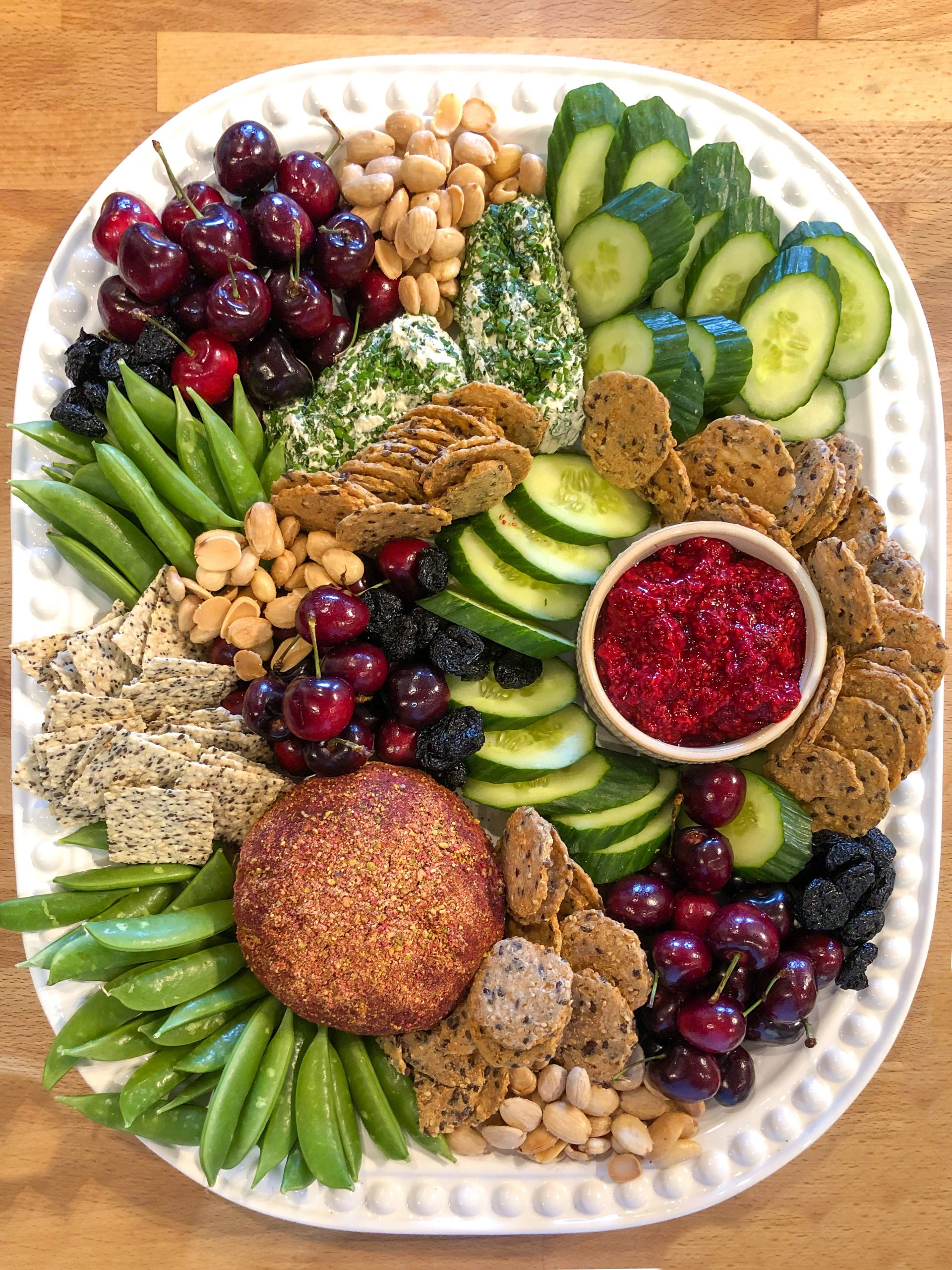 Vegan Cheese Party Board - boutique catering winter park