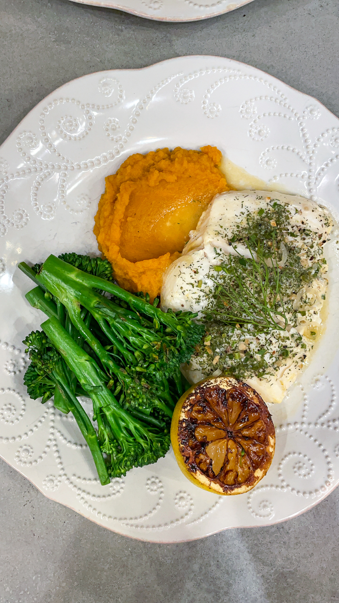 bake halibut - private boutique catering
