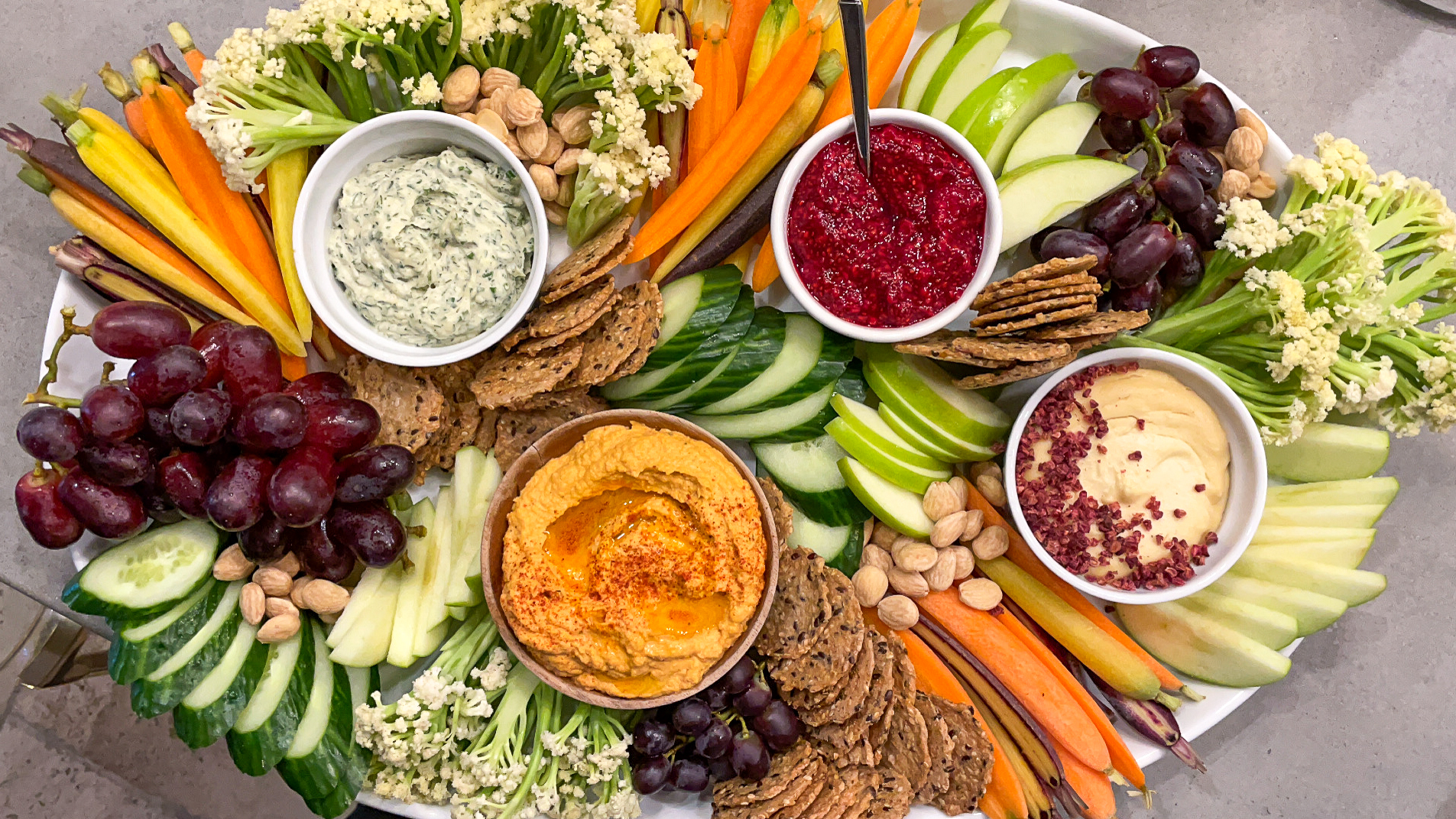 Dairy-Free Appetizer Party Board